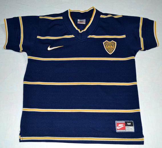 Camiseta De Boca Juniors Mercosur, Nike 1998, Niño O Dama.