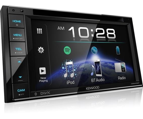 Radio Doble Din Kenwood Ddx419bt Bluetooth Spotify
