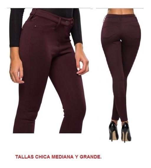 Leggings Casual Color Vino Paris Hilton