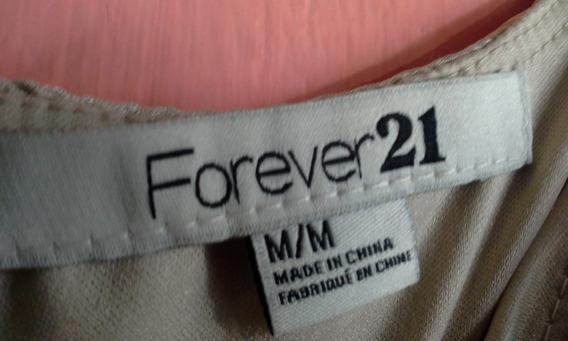Forever 21 $150 Blusa Larga O Vestido Super Corto Excelente