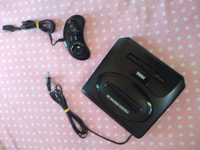 Mega Drive 3 Com Jogos Na Memória.