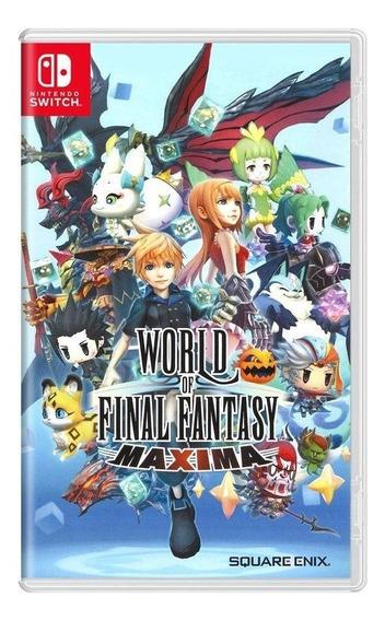 World Of Final Fantasy Maxima - Mídia - Física Switch - Novo
