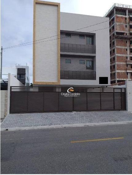 Apartamento Garden Com 1 Dormitório À Venda, 37 M² Por R$ 170.000 - Bancários - João Pessoa/pb - Gd0081