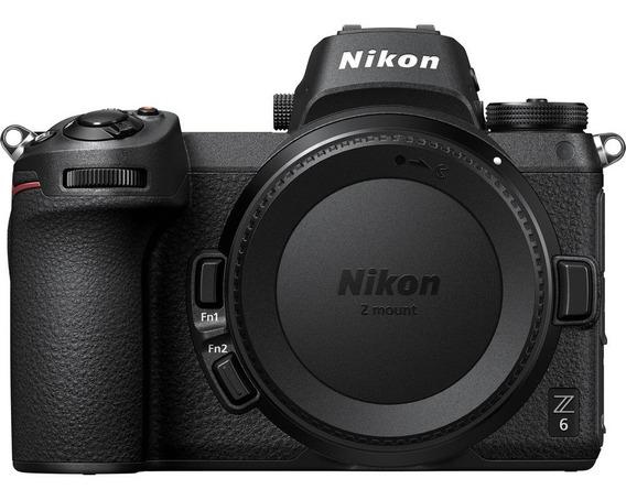 Nikon Z6 Body 24.5 Mpx Oled 3.2 4k Bluetooth Fx