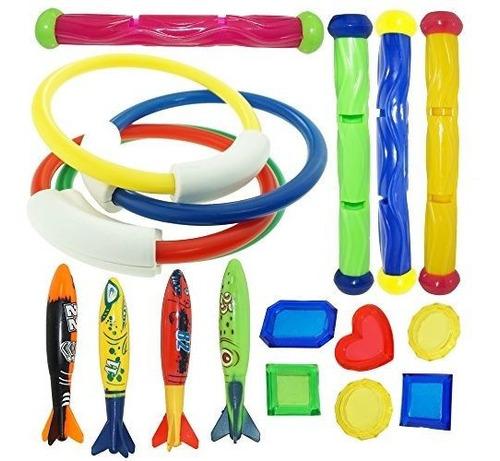 Joyin Toy Anillos De Juguete Para Natación / Buceo
