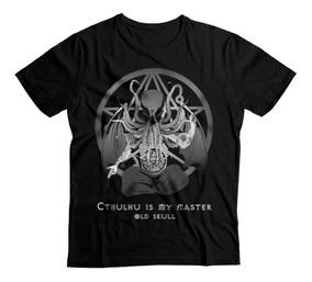 Playera Xxl Xxxl - Cthulhu Lovecraft Horror Punk Metal Goth