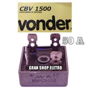 Placa De Diodo P/ Carregador De Bateria Dwt Cbd 1600 50 A