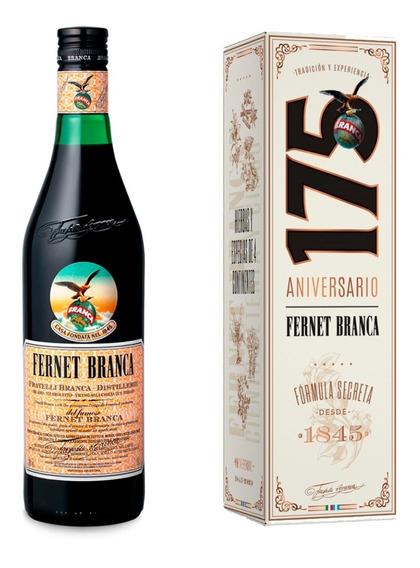 Fernet Branca 750 Ml + Estuche Edición 175º Aniversario
