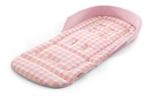 Almofada Para Carrinhos Safecomfort Plaid Pink Safety 1st