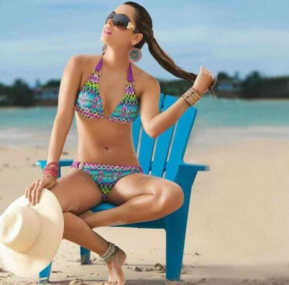 Bikini Tribal Colombiano Marca Garotas