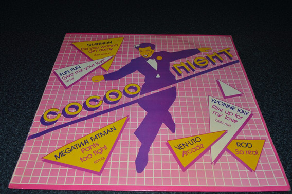 Cocoo Night Variado Dance De Los 80
