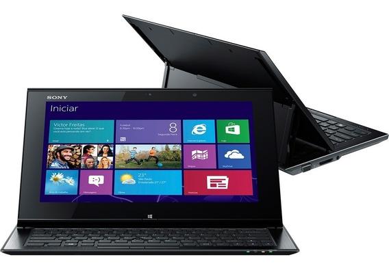 Ultrabook Conversível Sony Vaio Duo I5 11 Svd11215cbb Touch