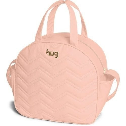 Bolsa Maternidade Hug Chevron G Rosa