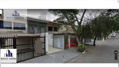 Sobrado/loja, Ponto Comercial Para Alugar Em Moema, 6 Salas, 3 Banheiros, 4 Vagas De Garagem, 1 Copa, 130 M², São Paulo. - So0292