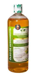 Shampoo Bergamota Con Biotina Arginina Savila Y Menta