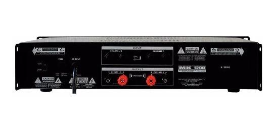 Amplificador Potencia Mark Audio - Mk1200