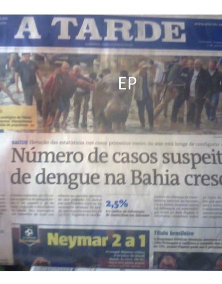 Jornal A Tarde De Salvador -ba Com Raul Seixas 60 R$.