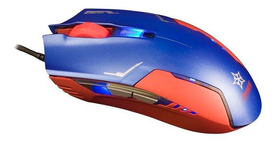 E-blue - Mouse Optico Capitão América 1600dpi - Ems613blaa