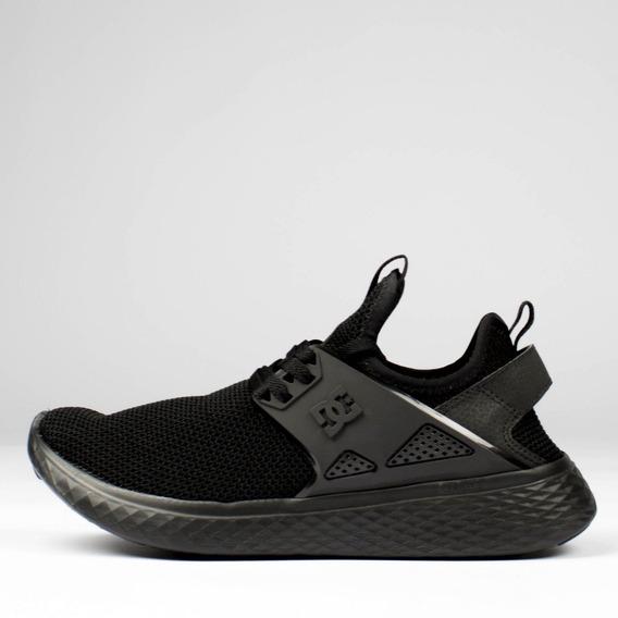 Tênis Dc Shoes Meridian Preto Inteiro - Oferta