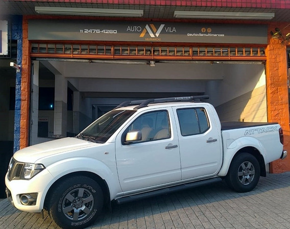 Nissan Frontier 2015 2.5 Sv Attack Cab. Dupla 4x2 4p