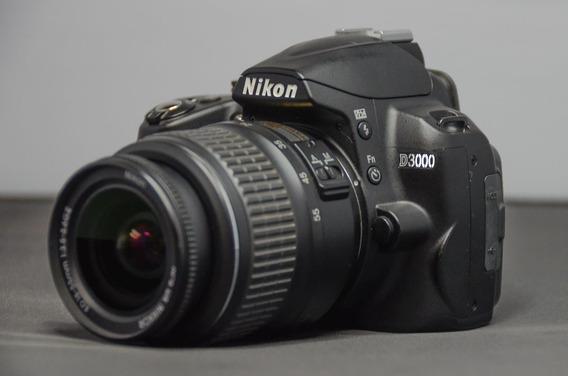 Câmera Nikon D3000 + Nikon 18-55 Gii Somente 2532 Clliques