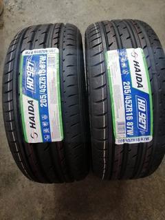 Dos Llantas 205/45/r16 87x Xl Haida Hd927 100%nueva