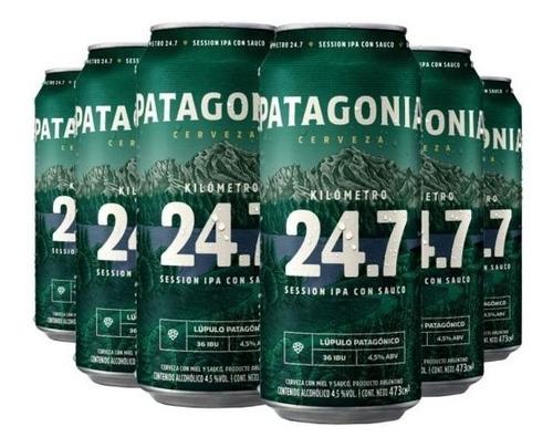 Pack Cerveza Patagonia 24.7 Lata X24u