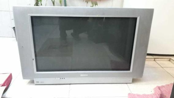 Tv Philips 32 Widescreen Somente Retirada No Local Leia!