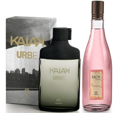 Perfume Kaiak Urbe + Frescor Ekos Moca - mL a $512