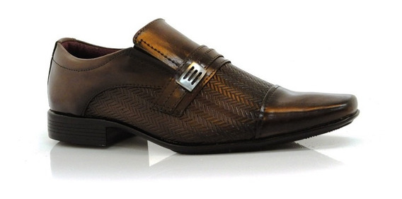 Sapato Social Masculino Fork - 8950 - Vizzent Calçados
