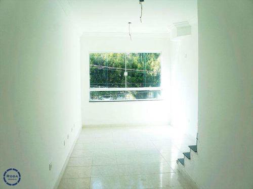 Casa Com 3 Dorms, Marapé, Santos - R$ 600.000,00, 150m² - Codigo: 6076 - V6076