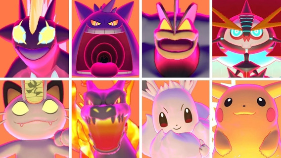 Pokémon Sword E Shield Todas As Gigantamax 6 Ivs!