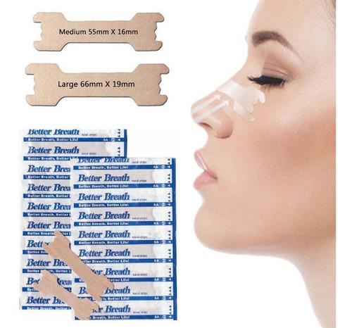 40 Tiras Nasales Antirronquidos Respirar - kg a $14