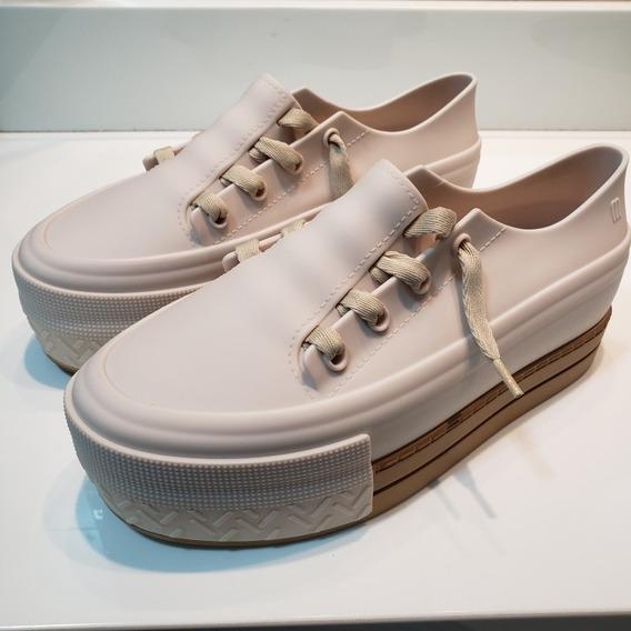 Tênis Melissa Ulitsa Sneaker Platform Bege 38