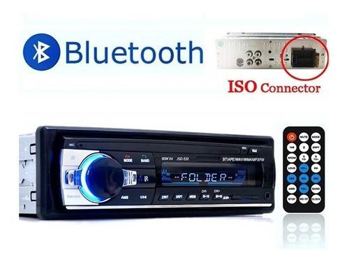 Imagen 1 de 8 de Equipo De Sonido Para Carro Usb  Aux  Sd Card  Bluetooth