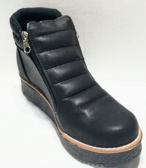 Zapato Calzado Bota Facil De Poner Mujer/fiorcalzados