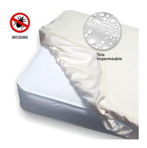 Protector Colchón Anti Fluido Extradoble 1.60x1.90 Antiácaro