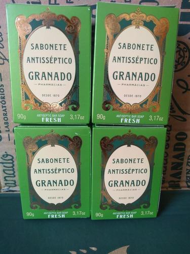 Sabonete Granado Antisséptico Fresh 4 X 90 Gramas
