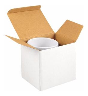 Cajas Para Sublimar Para Tazas X100 Blancas De Carton