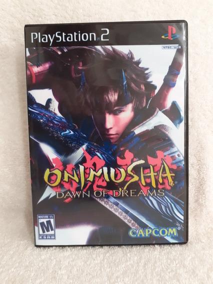 Onimusha Dawn Of Dreams Para Playstation 2 - Patch