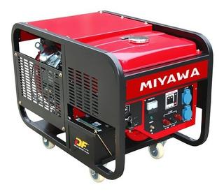 Grupo Electrógeno Generador 12 Kva Trifásico | Miyawa Mi12000tf