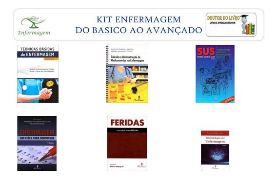 Kit De Enfermagem Do Básico Á Especialização Profissional