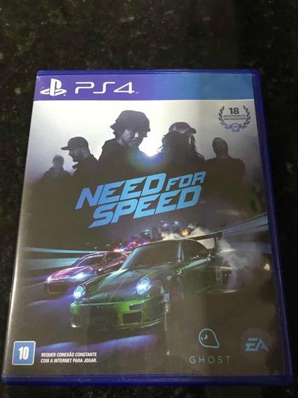 Jogo Ps4 Need For Speed Original Mídia Física