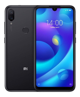 Celular Xiaomi Mi Play 64gb Global Original + Capa - Preto