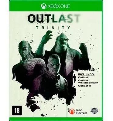 Outlast Trinity Xbox One - Mídia Física Lacrado
