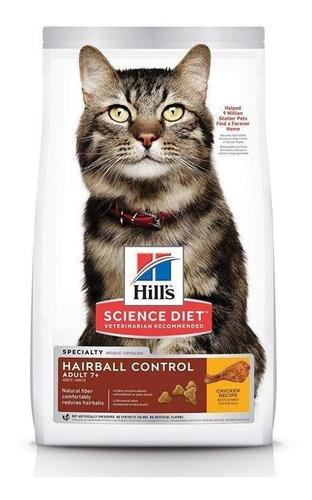 Hills Gato Hairball Control 7+ 3.5lb Bola Pelos