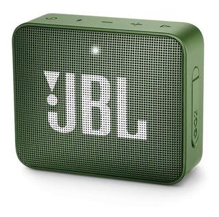 Parlante Jbl Go 2 Portable Bluetooth Resistencia Ipx7 Verde