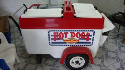 Carrinho De Hot Dog Vendo Ou Troco