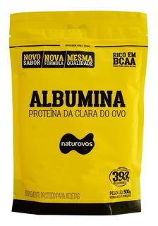 Albumina Refil 500g -- Naturovos
