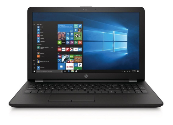 Notebook Hp Tela 15 N4000 4gb Ram 500gb Win10